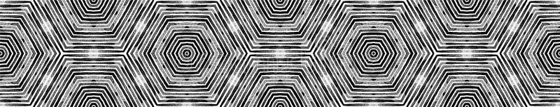 Défilement de bordure noir et blanc foncé Géant photos libres de droits