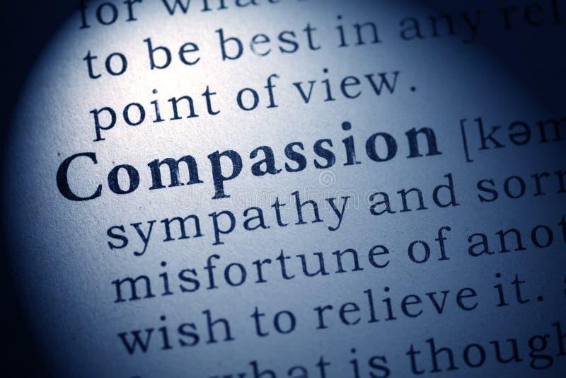 définition de la compassion images libres de droits
