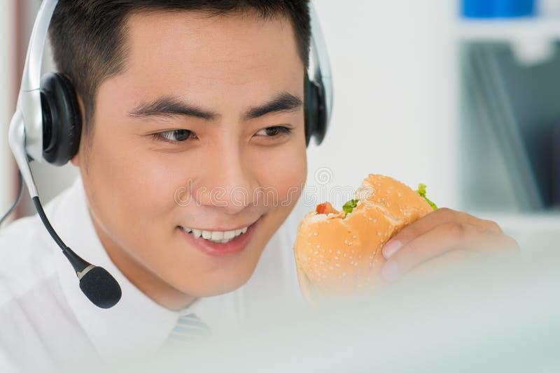 Dégagement d'hamburger photos libres de droits