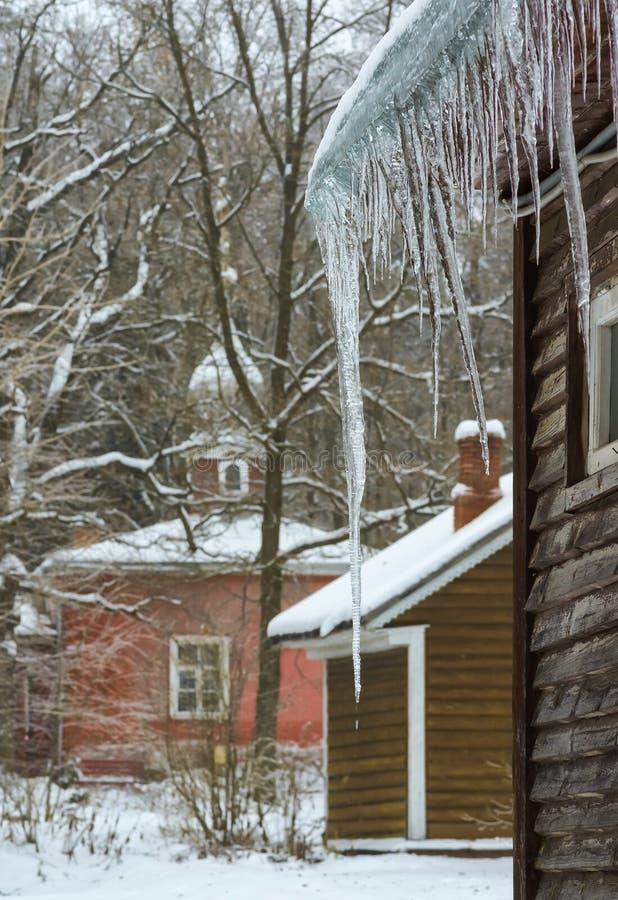 Dégel en hiver photos libres de droits
