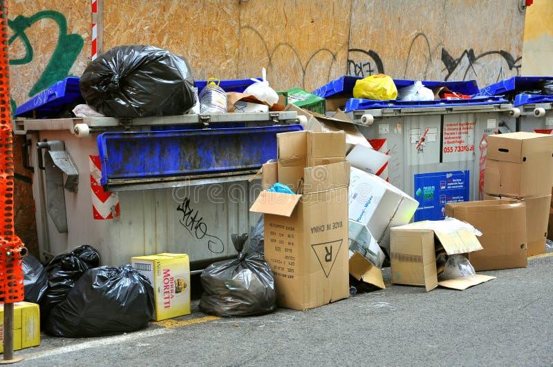 Dégradation urbaine en Italie   images stock