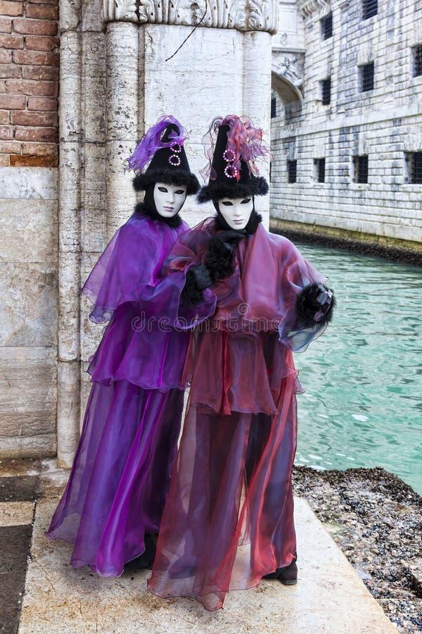 Déguisement Vénitien Photo stock éditorial
