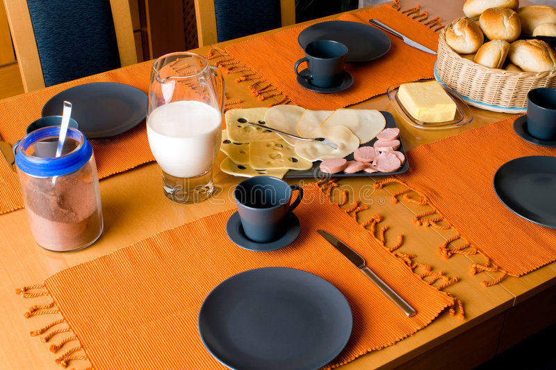 Déjeuner allemand images libres de droits