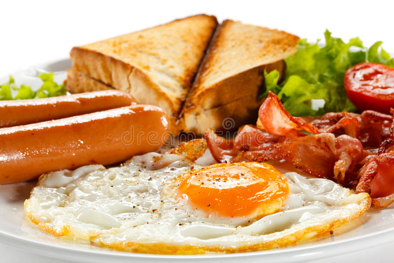 Déjeuner anglais images libres de droits