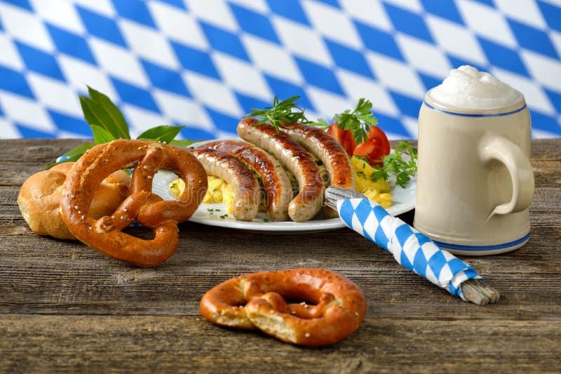 Déjeuner bavarois photos libres de droits