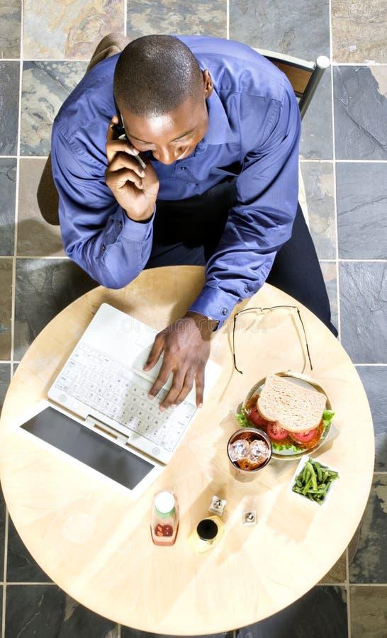 Déjeuner d'affaires photos stock