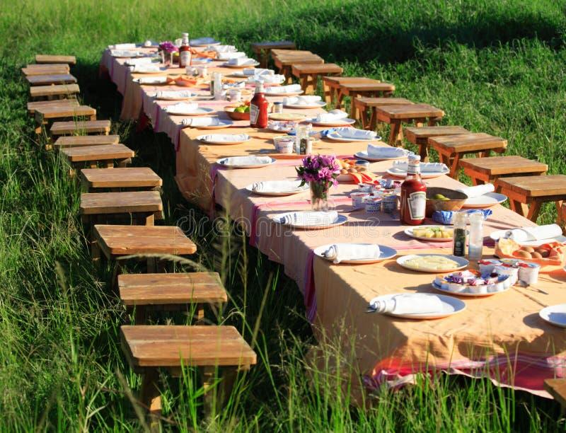Déjeuner de Bush photos stock