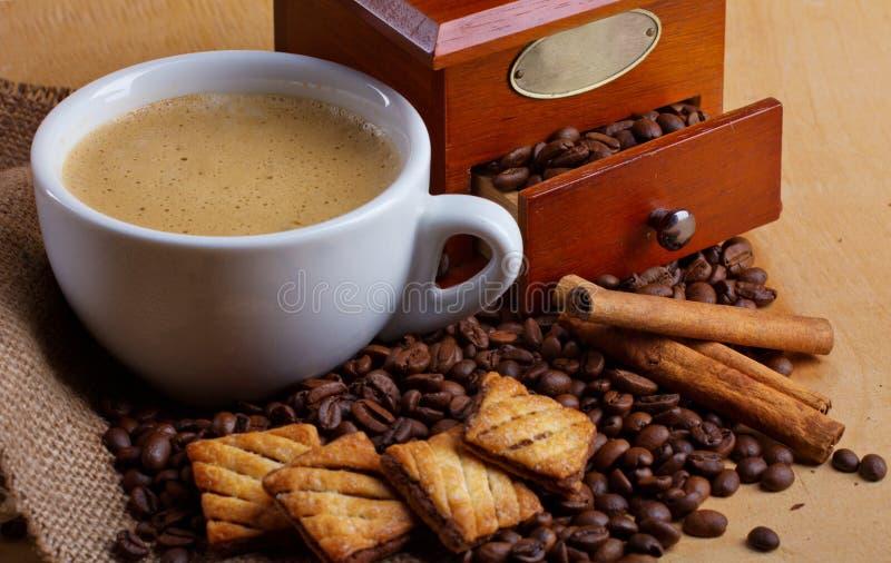 Déjeuner de café images stock