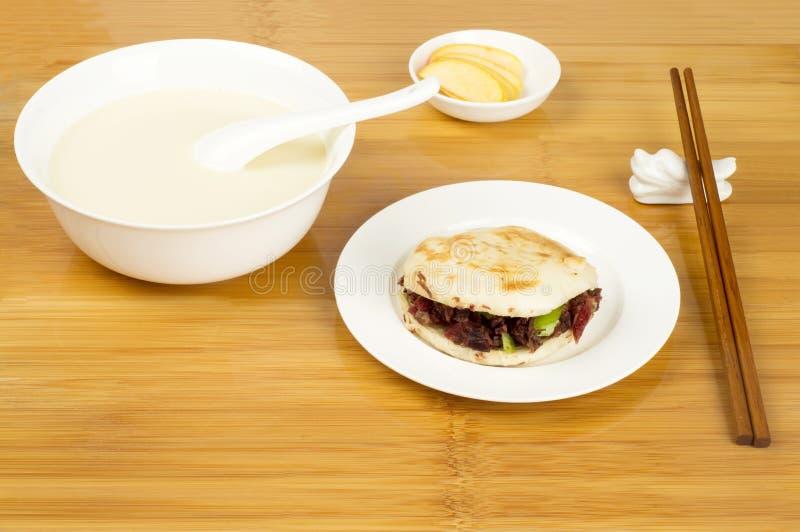 Déjeuner de type chinois photo libre de droits