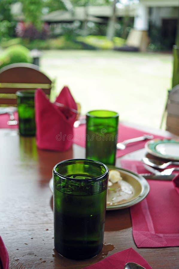 Déjeuner extérieur image stock