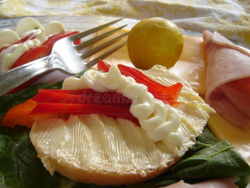 Déjeuner gastronome images libres de droits