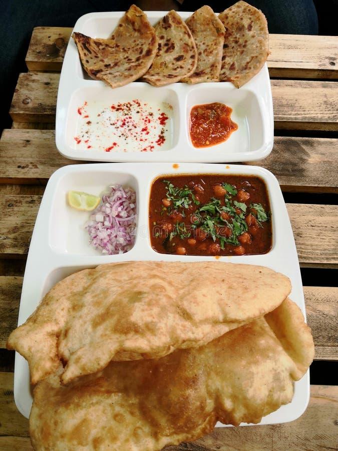 Déjeuner indien photo stock