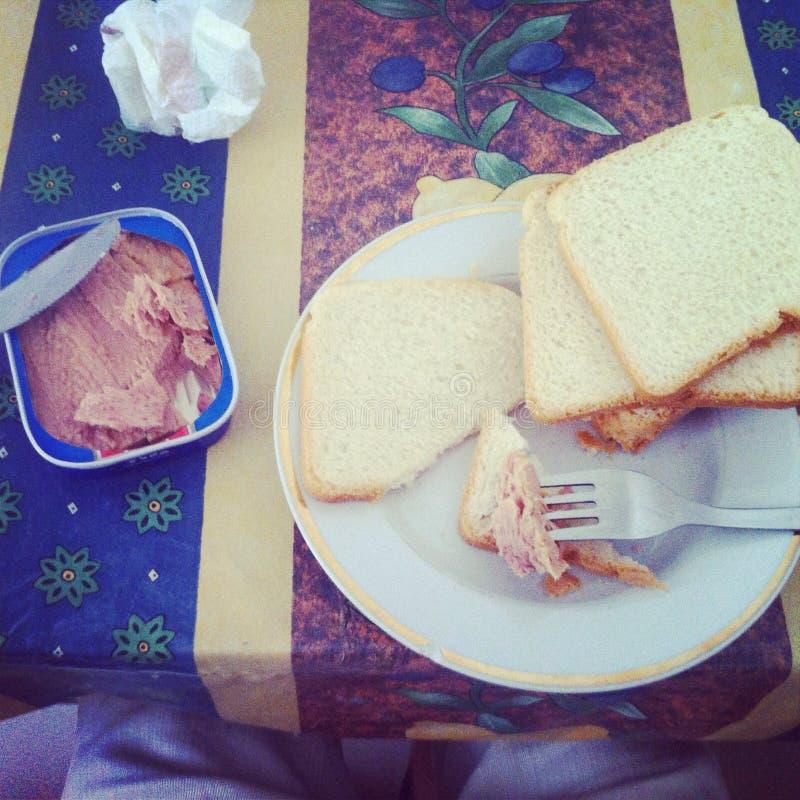 Déjeuner léger image libre de droits