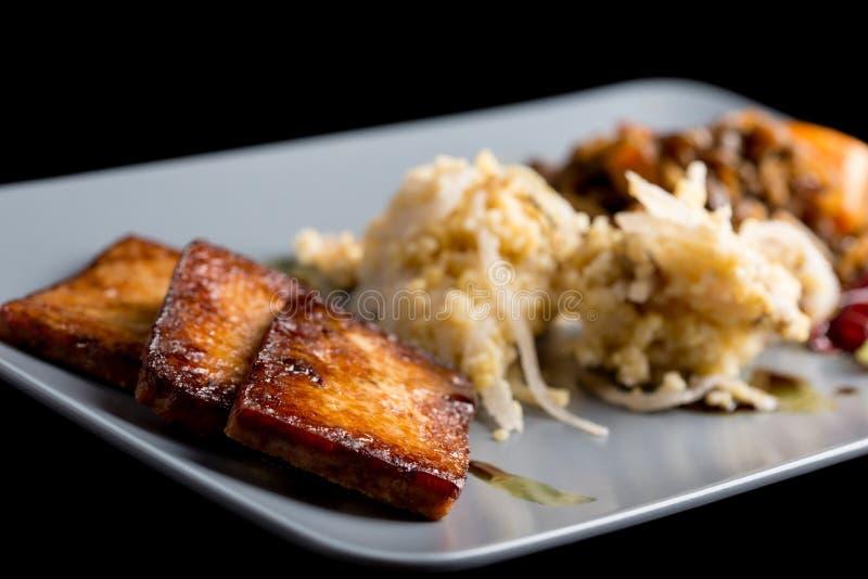 Déjeuner macrobiotique images stock