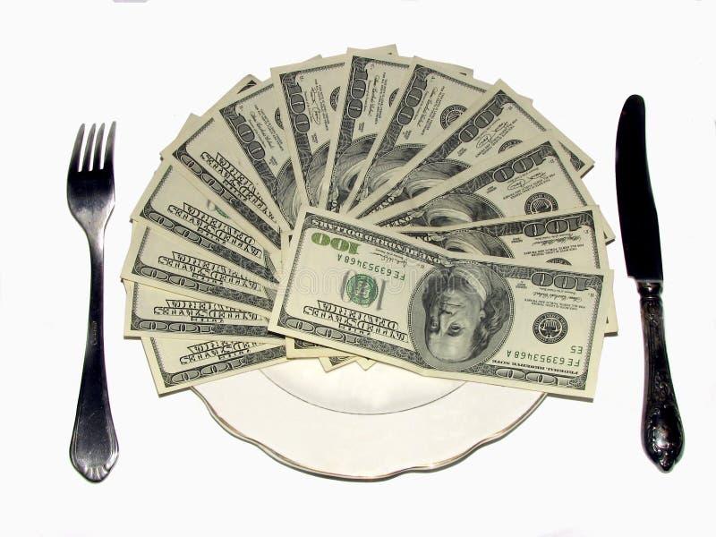 Déjeuner riche photo stock