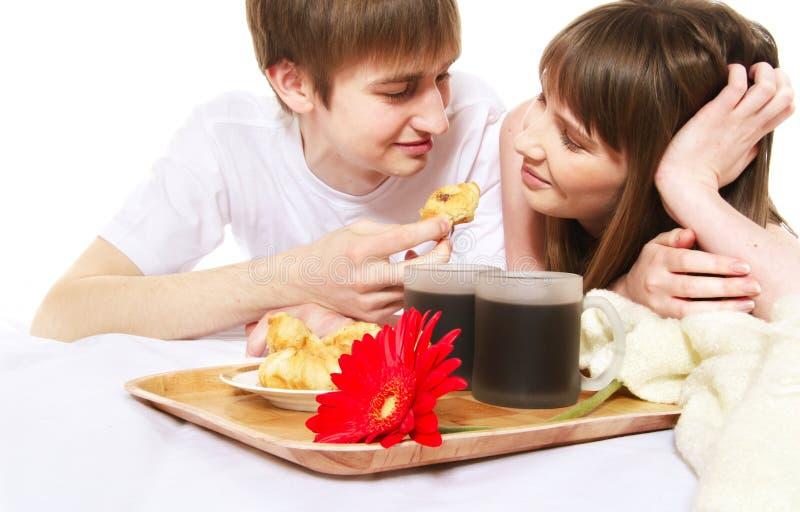 déjeuner romantique photographie stock libre de droits