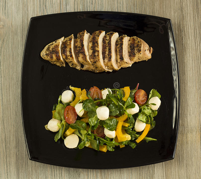 Déjeuner savoureux image stock