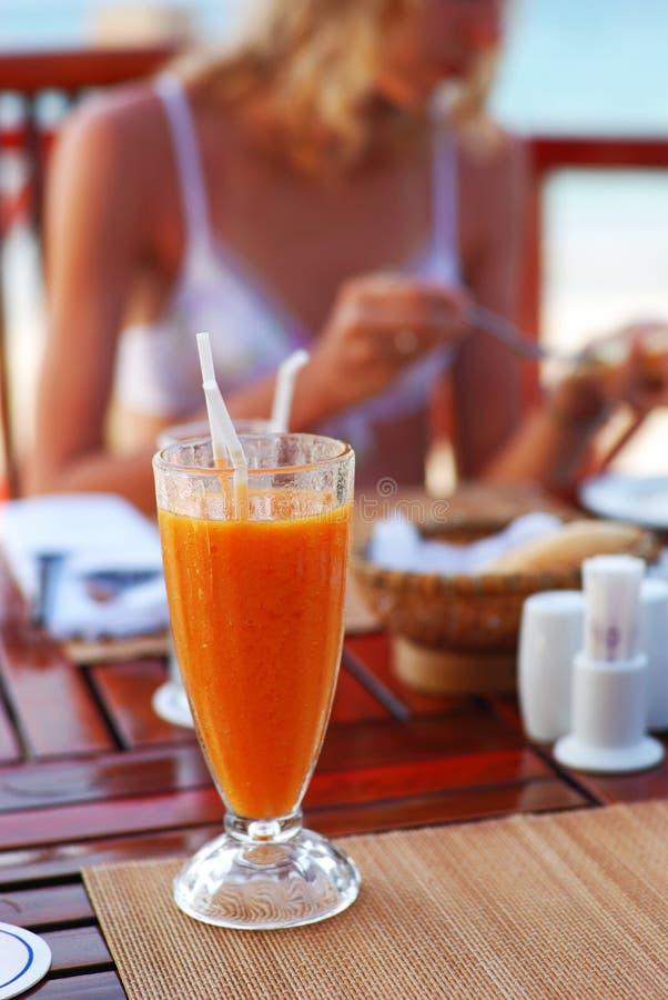 Déjeuner tropical photographie stock