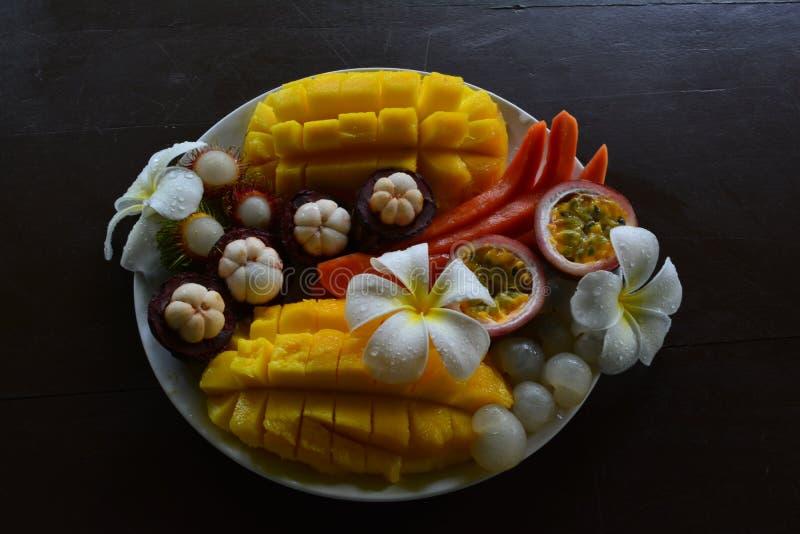 Déjeuner tropical photos stock