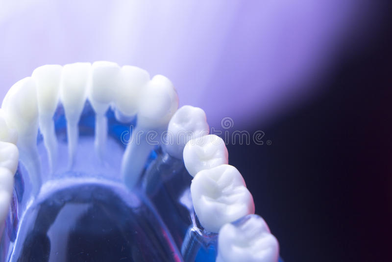 Délabrement dentaire de santé de dent photographie stock