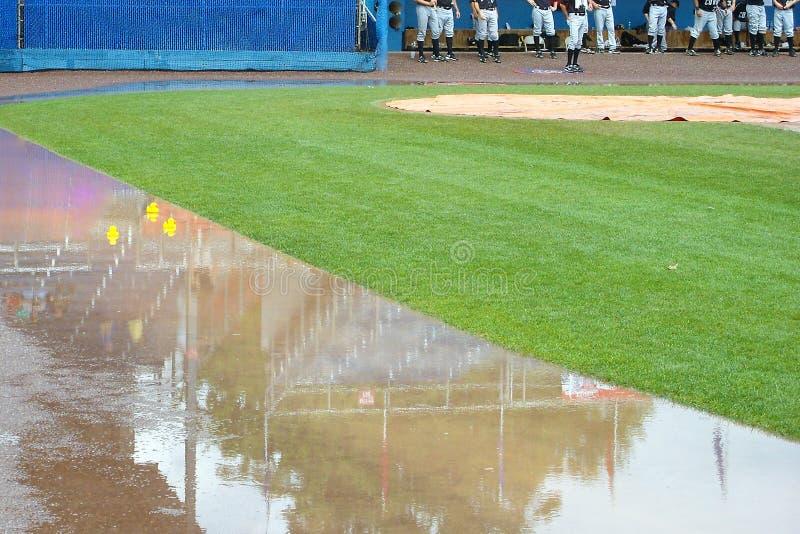 Délai de pluie photos stock