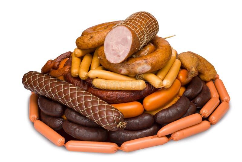 Délicatesses de viande images libres de droits