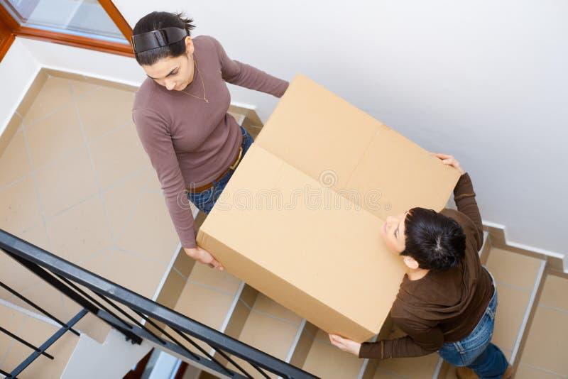 déménager à la maison neuf à photographie stock