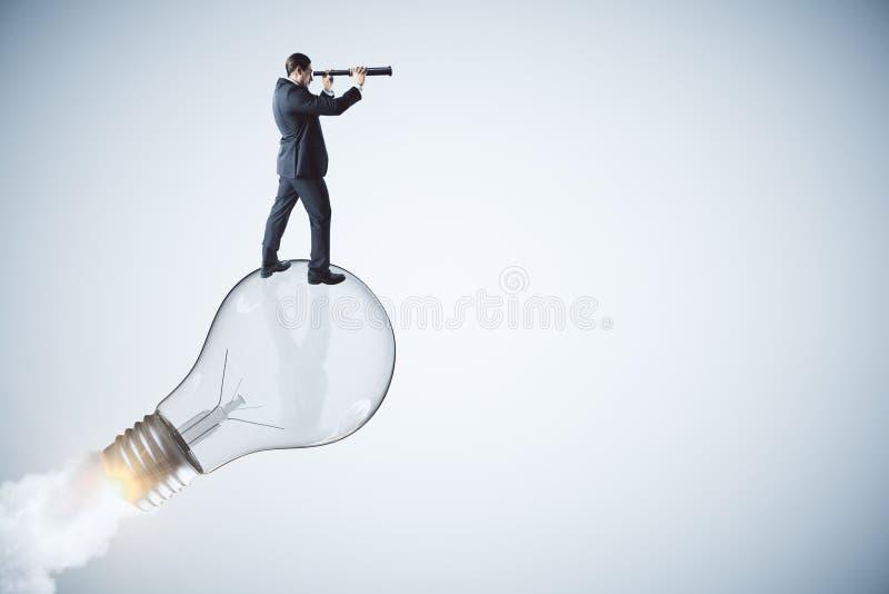 Démarrage, idée et concept de vision photo stock