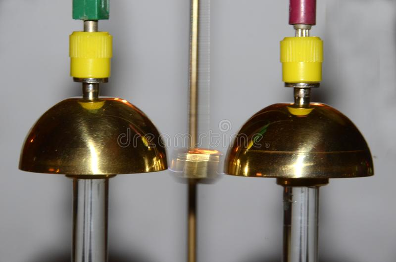 Démo de cloches de Franklin photographie stock libre de droits