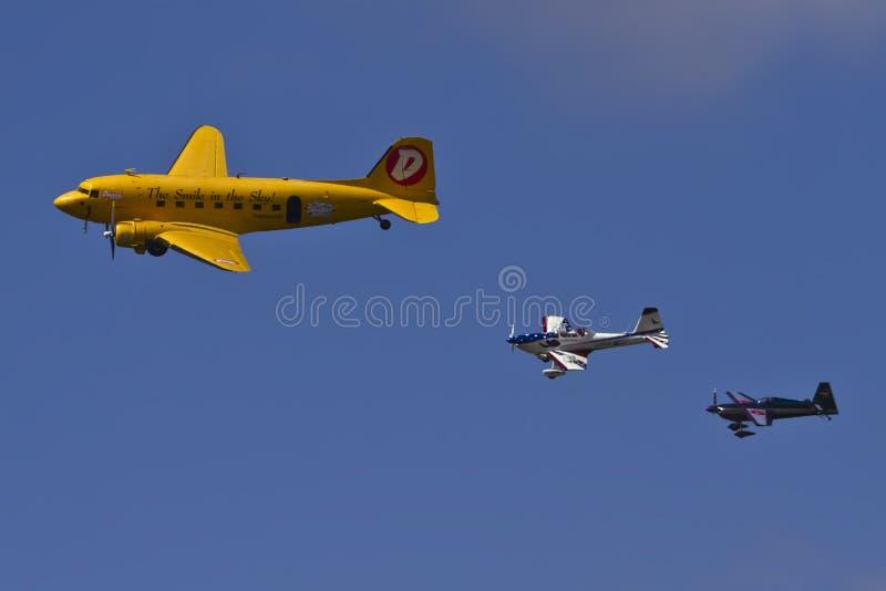 Démonstration d'Airshow photos libres de droits