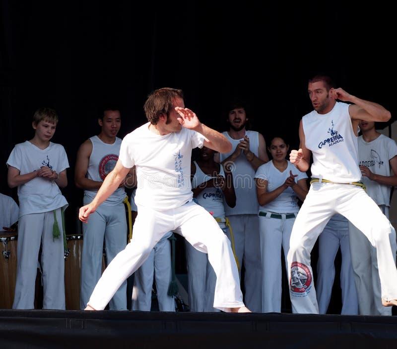 Démonstration de Capoeira photos stock