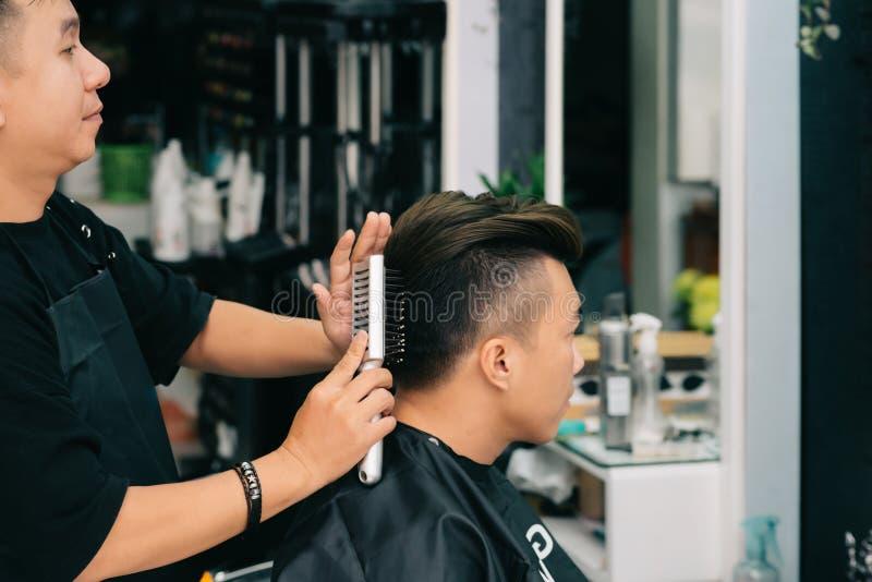 Dénommer des cheveux photographie stock