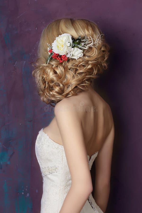 Dénommer des cheveux Portrait photos libres de droits