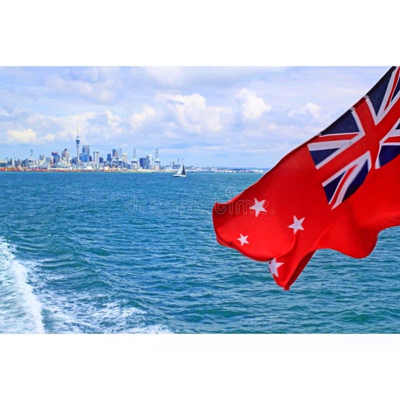 Départ d'Auckland images stock