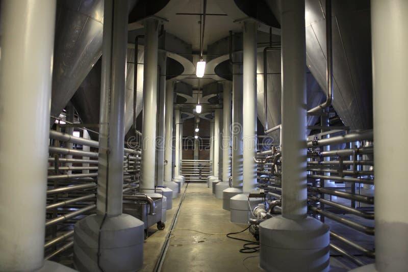 Département de fermentation de brasserie image libre de droits