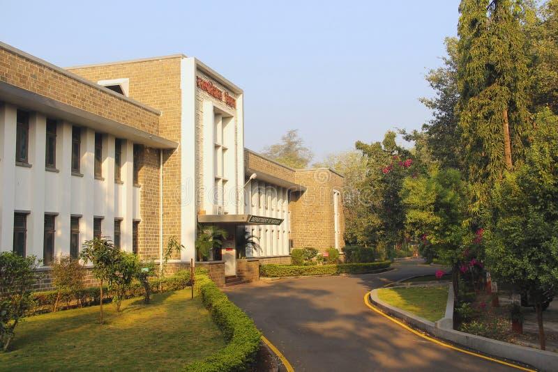 Département de la botanique, campus universitaire de Pune, Pune images stock