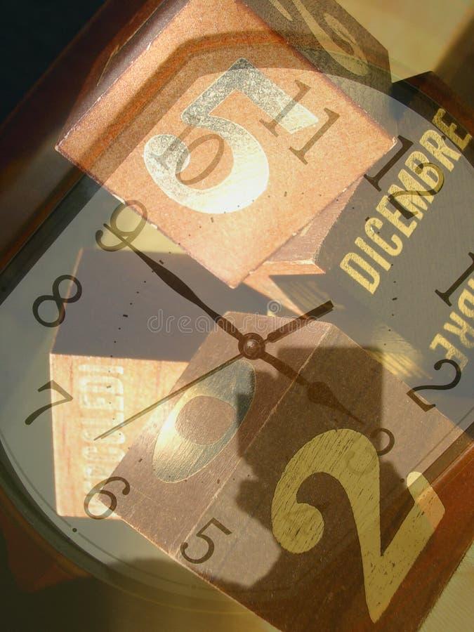Dépassement de temps photographie stock