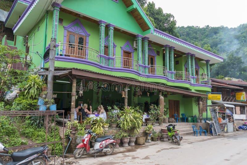 Dépendance en Pak Beng, Laos photographie stock libre de droits