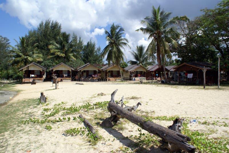 Dépendance sur la plage photo stock