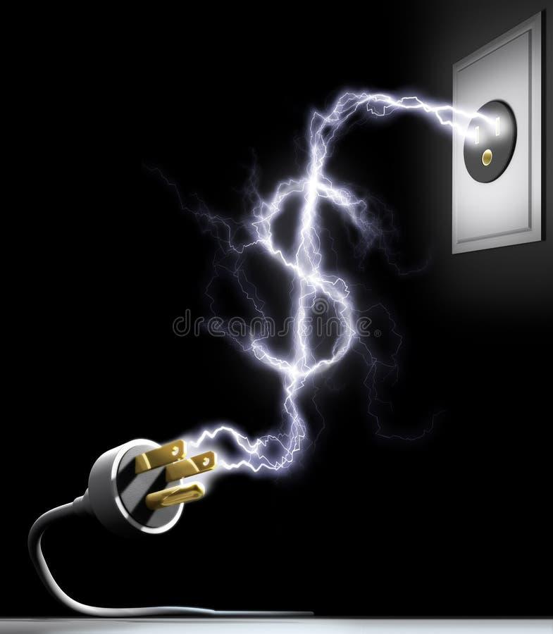 Dépensez l'énergie illustration libre de droits