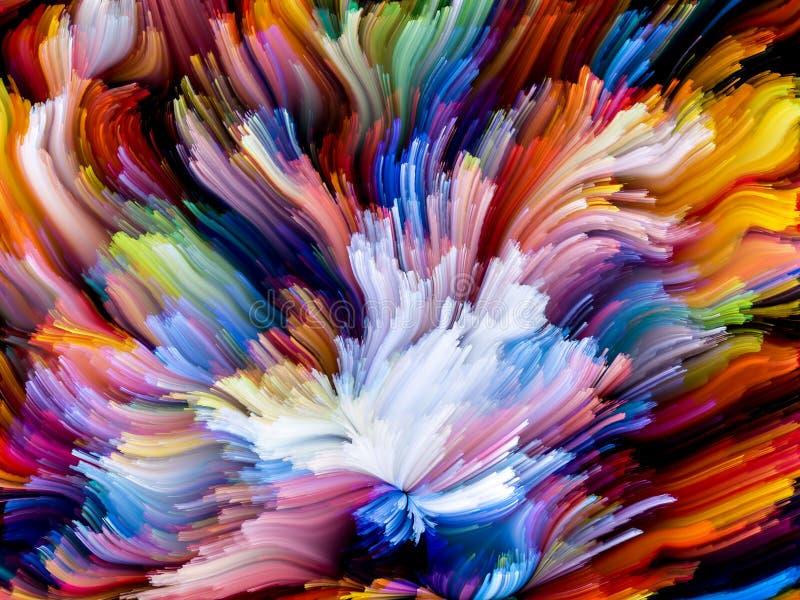 Déploiement de couleur illustration de vecteur