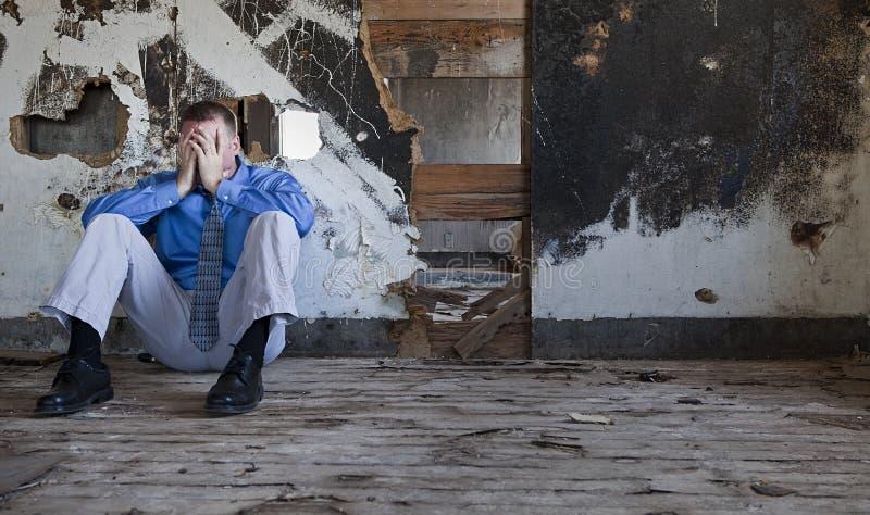 Dépression et tristesse photographie stock libre de droits