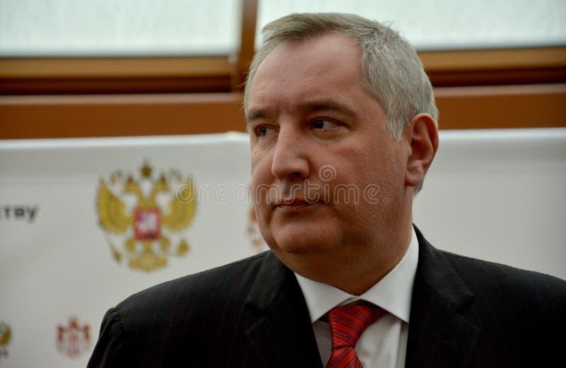 Député Prime Minister de la Russie, Dmitry Rogozin image libre de droits
