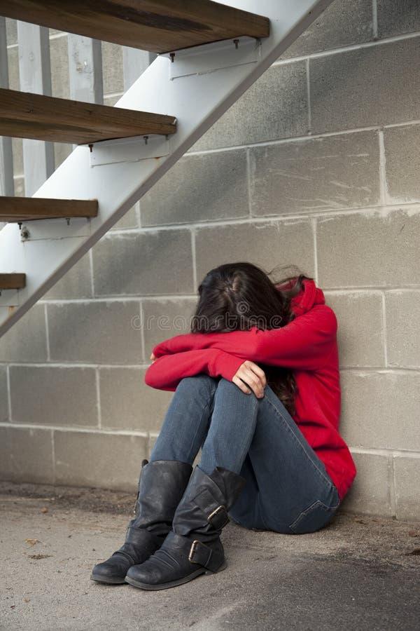 Dérangez l'adolescente photos libres de droits