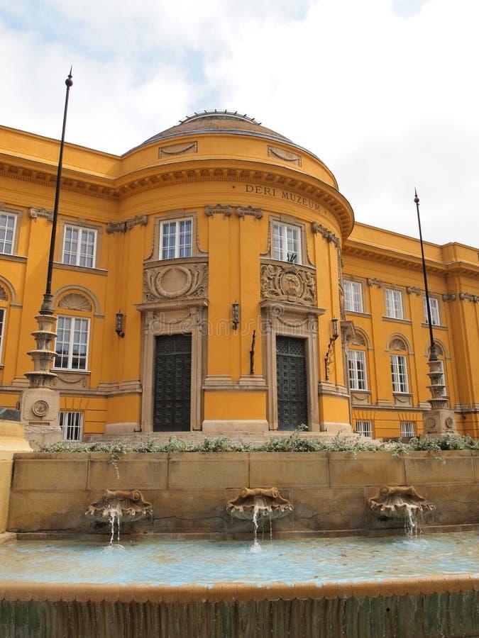 Déri Museum royalty free stock photos