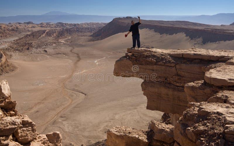 Désert d'Atacama au Chili nordique image libre de droits