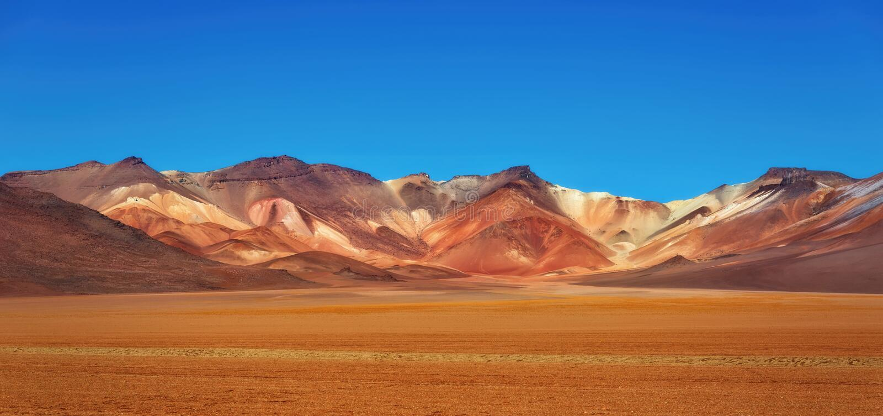 Désert d'Atacama Bolivie images stock