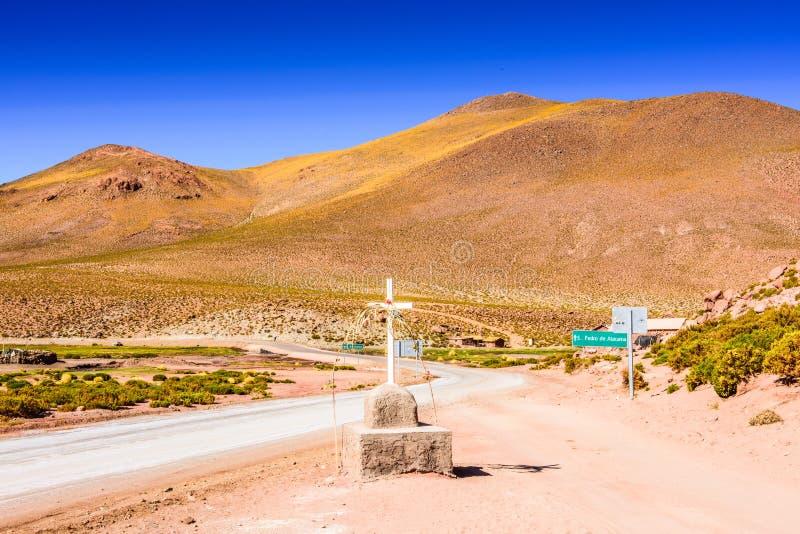 Désert d'Atacama, Chili image libre de droits