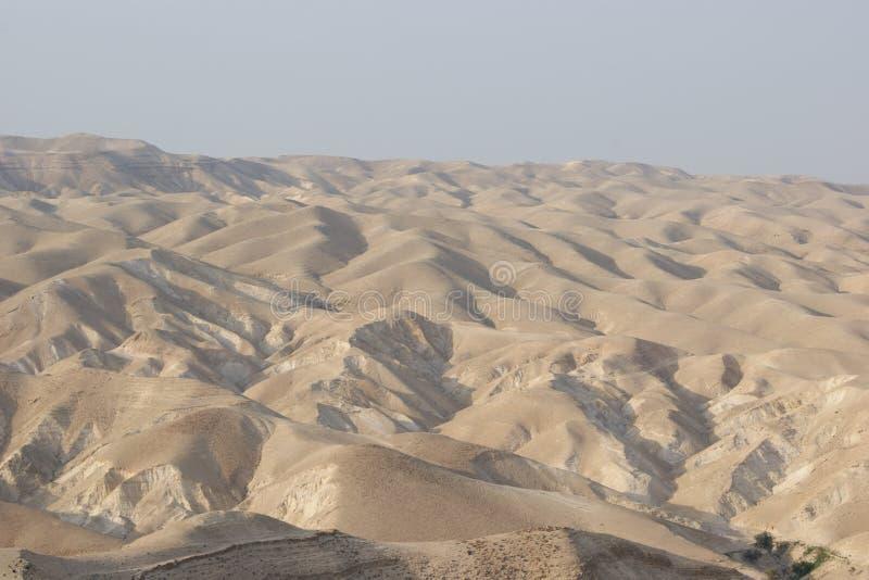 Désert de Judean, Israël, près de Wadi Qelt photo stock