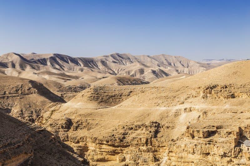 Désert de Judean, Palestine image libre de droits